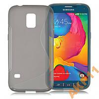 Силиконовый S-line чехол для Samsung Galaxy S5