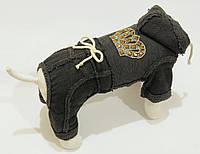 "Спортивный костюм ""Корона"" размер S(26 см)  Vip Doggy темно серый, фото 1"