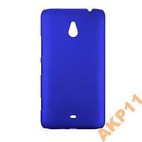 Пластиковый прорезиненный чехол Nokia Lumia 1320