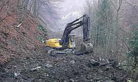 Вырыть пруд,Земляные работы, устройство котлованов,