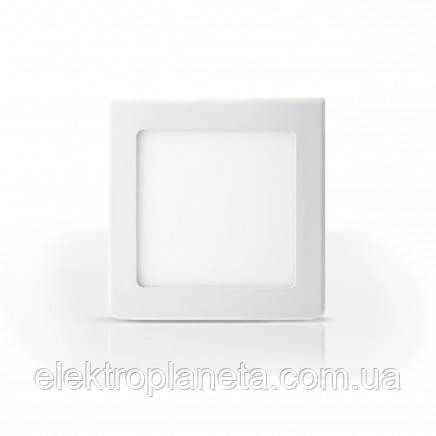Светильник LED-SS-120-6 6Вт 6400К квадратный накладной 120мм