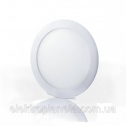 Светильник  LED-SR-170-12 12Вт 6400К круглый накладной 170мм
