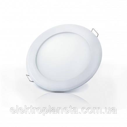 Светильник  LED-R-120-6 6Вт 6400К круглый встроеный 120мм