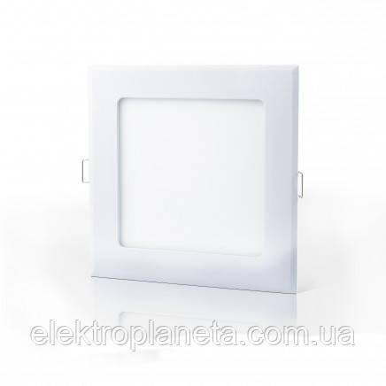 Светильник  LED-S-120-6 6Вт 6400К квадратный встроеный 120*120мм