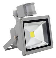 Светодиодный прожектор с датчиком движения (10 Вт, IP66)
