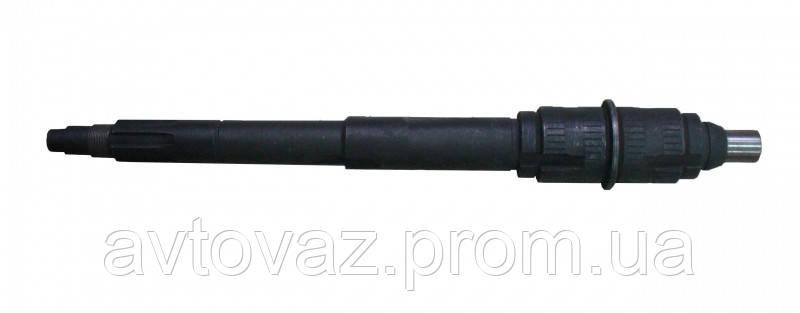Вал вторичный КПП ВАЗ 2107 5-ти ступенчатый  н/о