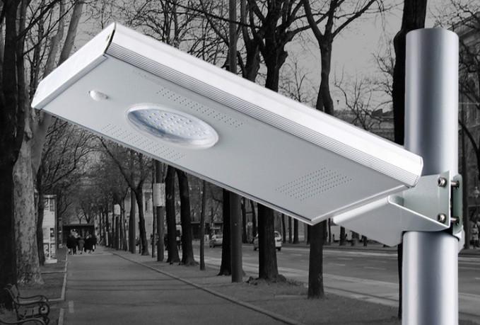 Лед светильник 10W на солнечной батареи