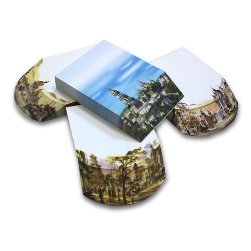 Серия «Старый Киев» (3D-NoteCube объемные блоки для записей)
