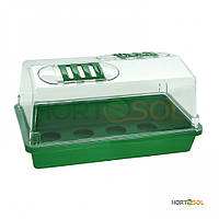 Тепличка для проращивания Hortosol 37,5x24x19 см