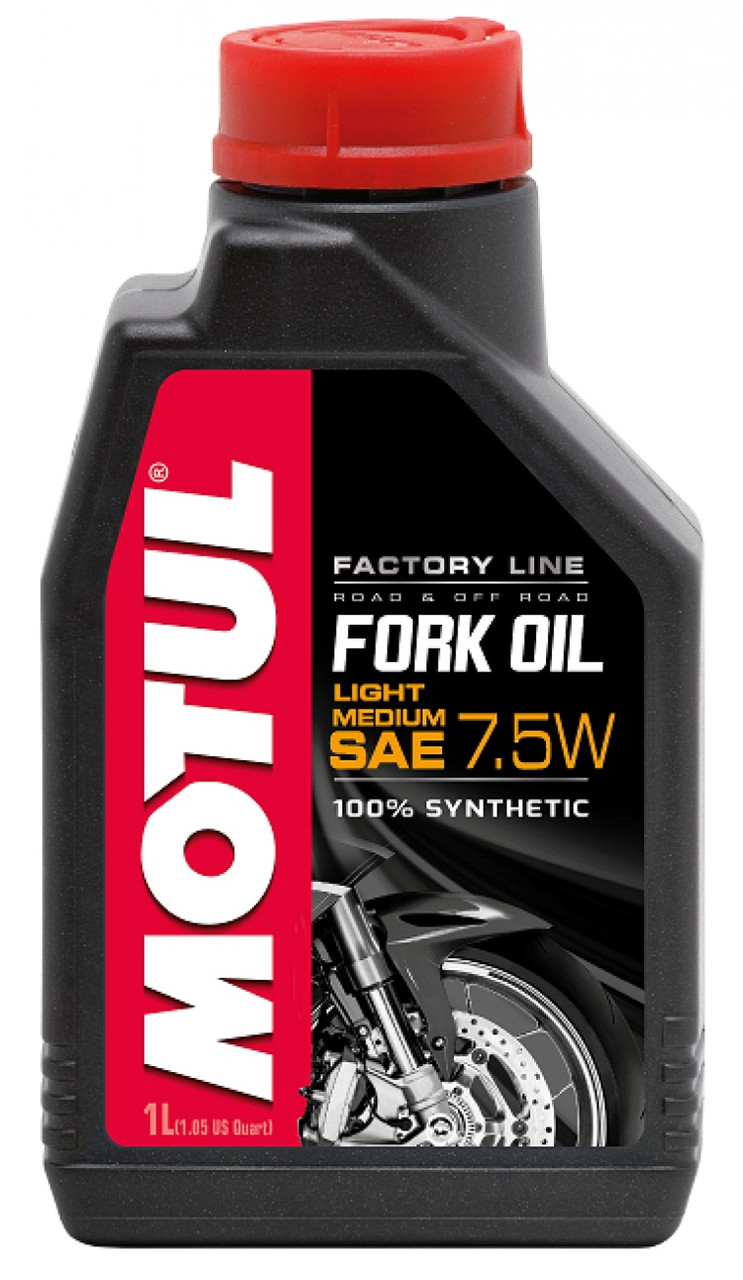 Вилочное масло Motul Fork Oil light medium Factory Line 7,5W 1л