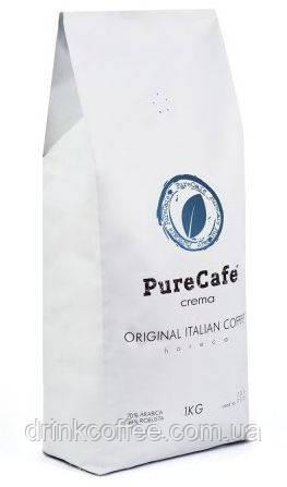 Кофе PureCafe Crema зерно 70% Арабики 30% Робусты Италия 1кг