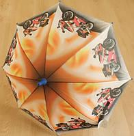 """Детский зонт """"Мотоцикл"""" от компании Star Rain полуавтомат, 2 сложения, 8 спиц"""