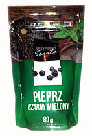 Перец черный молотый Przyprawy Swiata Pieprz Czarny Mielony 80 гр.
