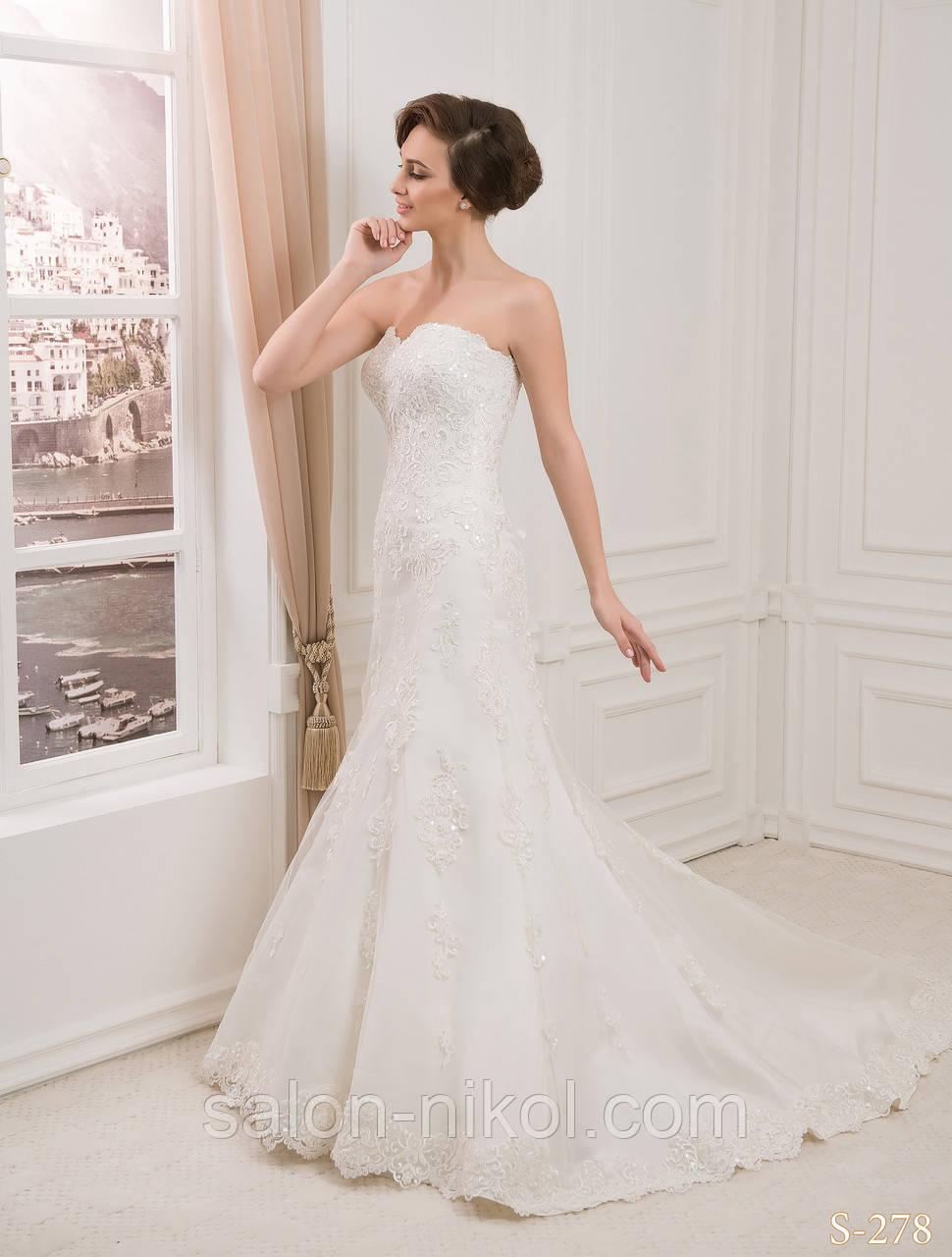 Свадебное платье S-278