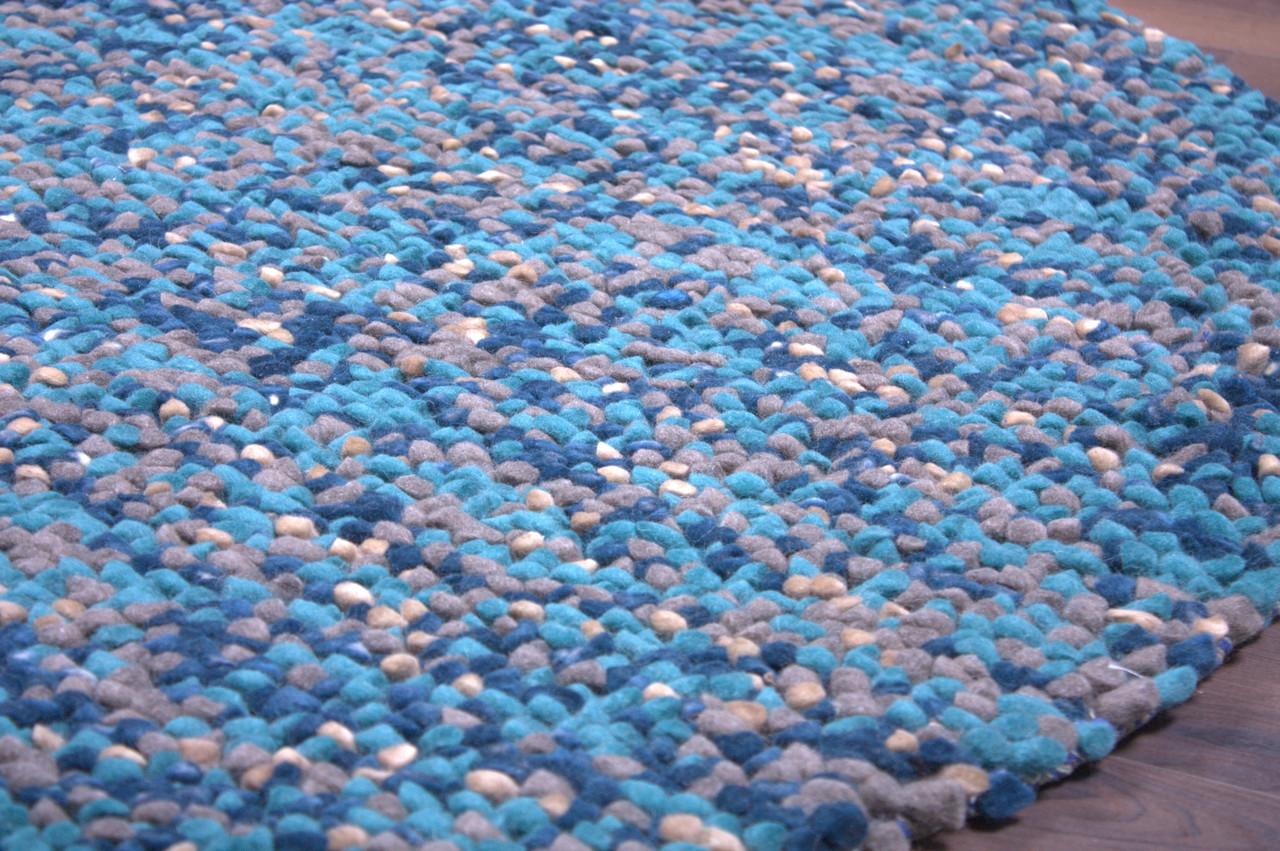Ковер NOR-Barcelona Blue 140х200 см (Индия)