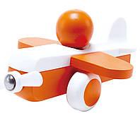 "HAPE Игрушка ""Самолетик"" оранжевый    (Е0065), фото 1"