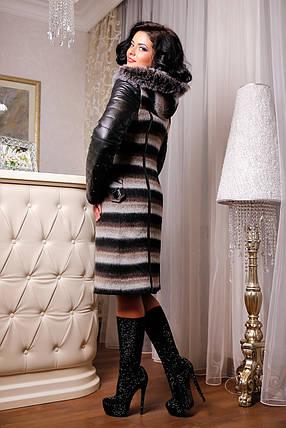 Женское зимнее пальто больших размеров (44-54) арт. 843 Тон 01, фото 2
