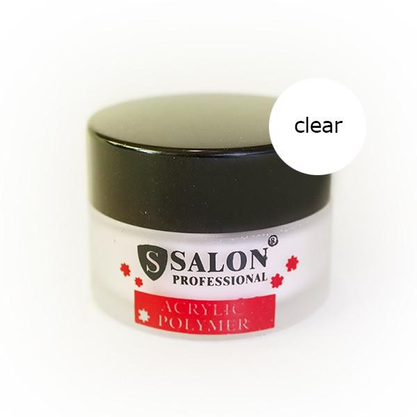 Пудра акриловая прозрачная 30гр Salon Professional