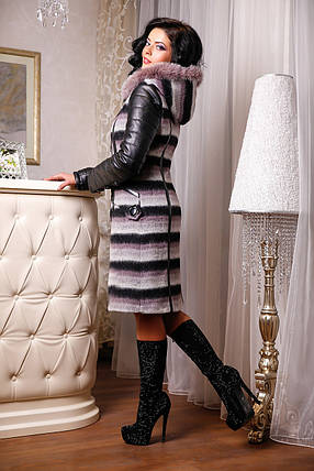Женское зимнее пальто больших размеров (44-54) арт. 843 Тон 03, фото 2