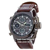Часы военные водонепроницаемые AMST 3003 (Кварц) Black. , фото 1