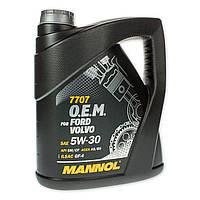 Масло моторное Mannol 5W-30 7707 O.E.M. синтетическое 5л