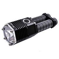 Супер мощный фонарь T07-T6 на два аккумулятора, на новом кристале