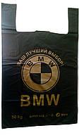 """Пакет майка """"BMW"""" 46х69  100шт."""