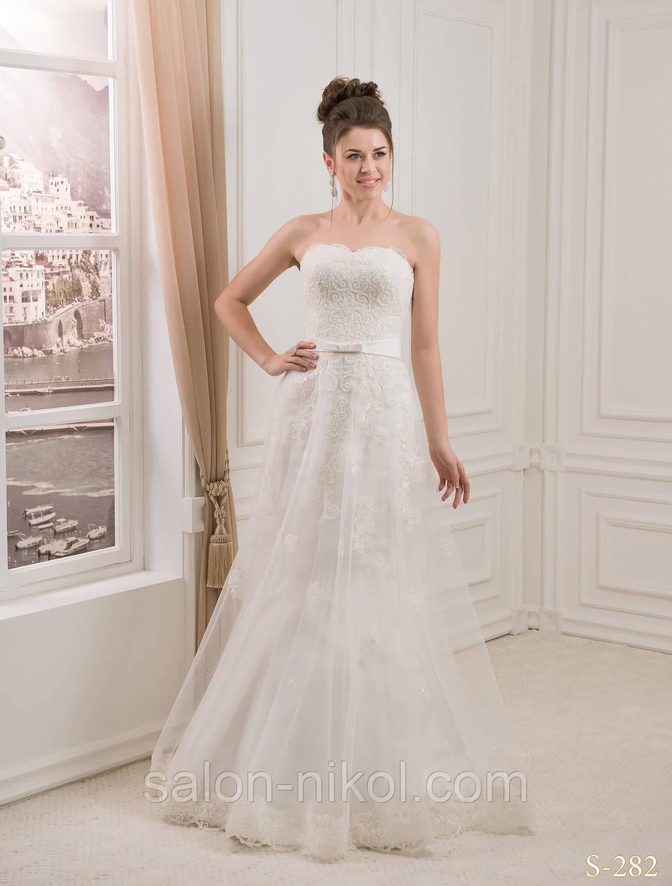 Свадебное платье S-282