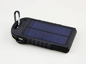 УМБ Power Bank на солнечной батарее 12000 mah, фото 2