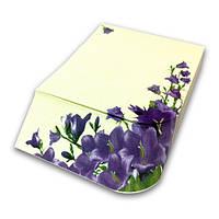 Бумага для заметок «Колокольчики» серия «Цветы»