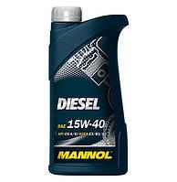 Масло моторное Mannol 15W-40 Diesel минеральное 1л