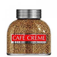 Растворимый кофе с добавлением молотого Café Crème   в стеклянной банке 100 грамм