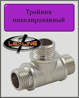 """Тройник 3/4"""" ННН никелированный"""