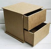 Комодик куб 13*13*13 см, 1 шт