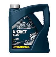 Масло моторное Mannol 4-Takt Agro минеральное 4л