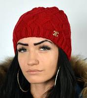 Красная полушерстяная шапка, фото 1