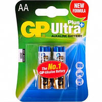 Батарейка GP 15AUP-U2 Ultra alkaline PLUS,блистер 2/40/1000