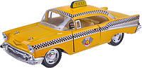 Металлическая машинка KINSMART Chevrolet Bel Air (Taxi) 1957
