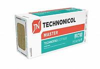 Теплоизоляция базальтовая минеральная вата ТЕХНОФАС КОТТЕДЖ  Технониколь 50 мм/ плотность 105 кг/м3