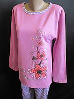 Женские пижамы на байке большого размера, фото 1
