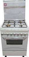 Газовая плита FRESH 6607 ITALIANO Comfort бел 60, фото 1
