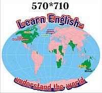 Англоговорящие страны. Стенд для кабинета английского языка.