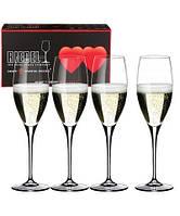 Набор бокалов для шампанского Riedel Heart to Heart 330 мл 4 шт 5409/08