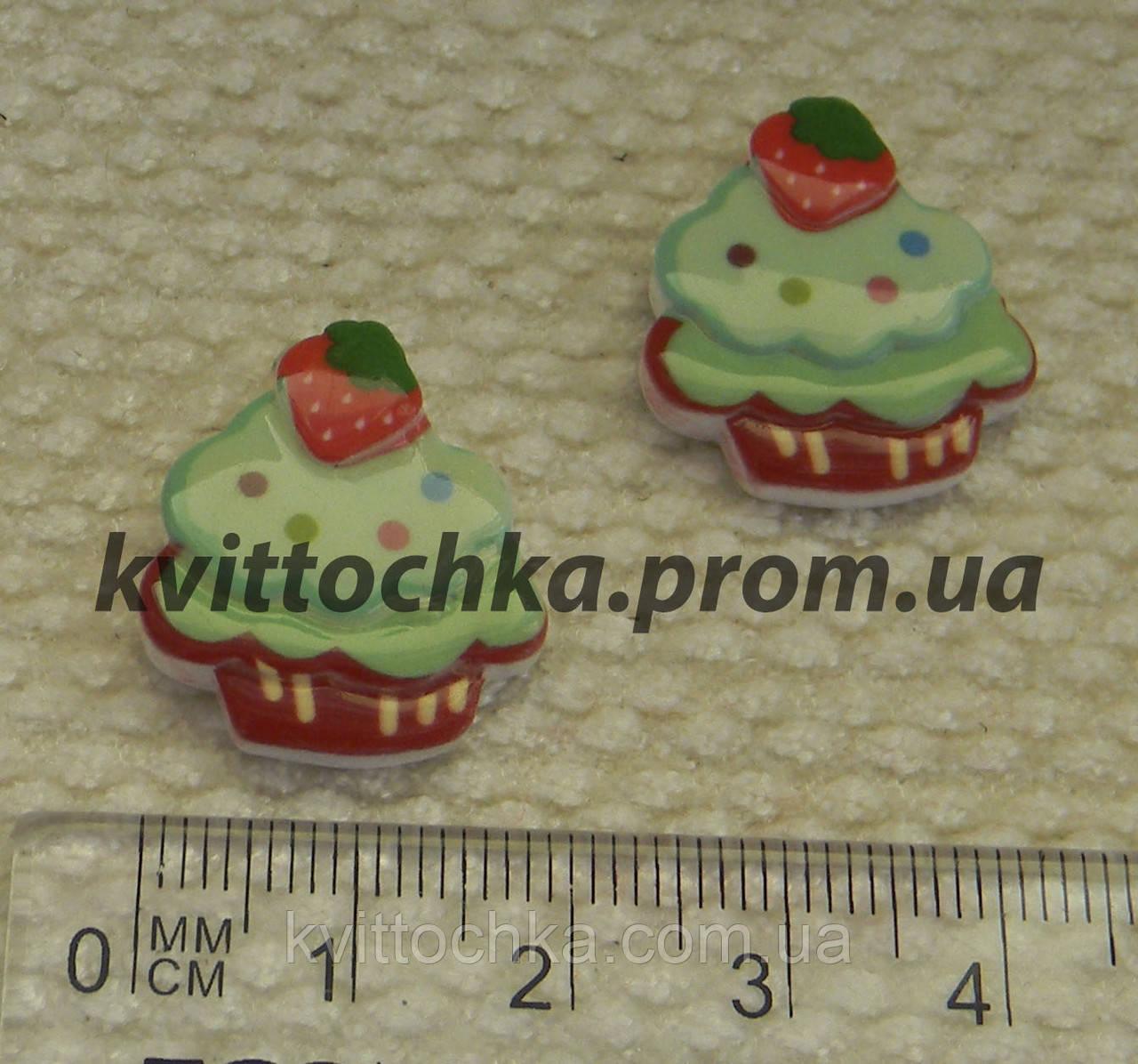 """Серединка-кабошон """" Пирожное """""""