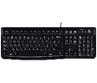 Клавиатура Logitech K120 чёрная, USB