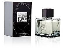 Antonio Banderas Splash Seduction in Black туалетная вода 100 ml. (Антонио Бандерас Сплеш Седакшн ин Блэк)