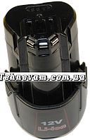 Аккумулятор шуруповерт Bosch LI-ion 12V 1.5Ah