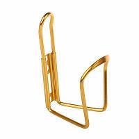 Крепление фляги для велосипеда (флягодержатель) Золото
