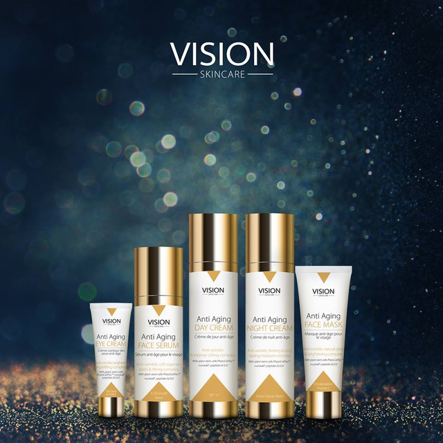 Vision Skincare - антивозрастная французская косметика