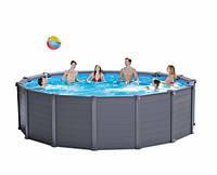 Intex 28384 бассейн 478х124 Graphite panel pool